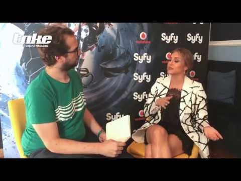 Sharknado 5 . Entrevista a Cassie Scerbo