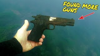 Nugget Noggin Found a Shotgun While Scuba Diving Rivers for Treasure