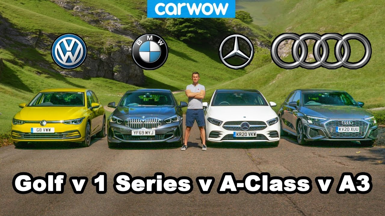 Audi A3 v BMW 1 Series v VW Golf v Mercedes A-Class: which is best?