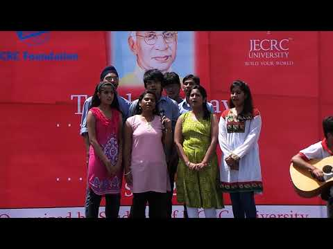 Group Song on Teachers Day @ JU