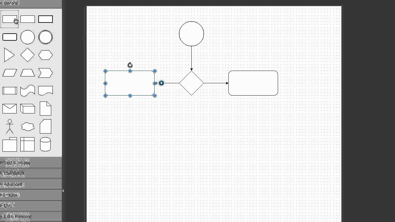 draw io is an easy-to-use flowchart maker