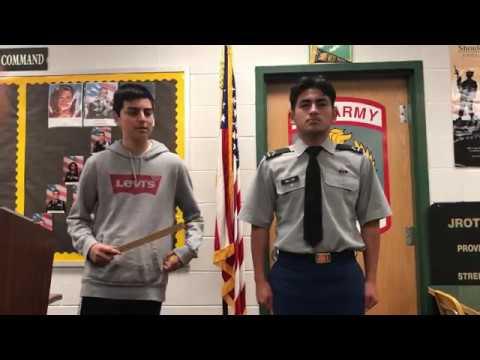 How to wear the Army JROTC Male Class B Uniform (w/ and w/out windbreaker)