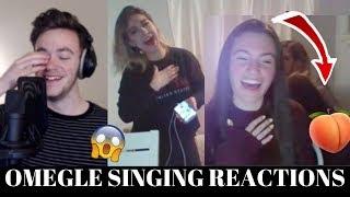 OMEGLE SINGING REACTIONS (SHE TWERKED TO ME SINGING)   EP. 17