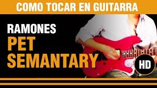 Скачать Como Tocar Pet Sematary De Los Ramones En Guitarra VERSOS Y ESTRIBILLO