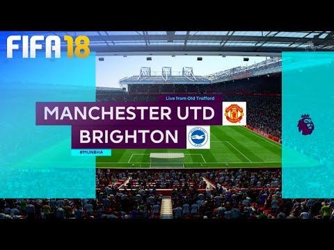FIFA 18 - Manchester United vs. Brighton & Hove Albion @ Old Trafford