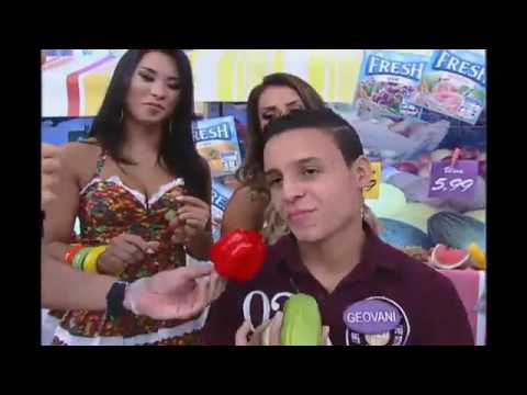 Rodrigo Faro vira Ana Carolina no Dança Gatinho #ARQUIVOMDB