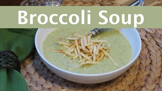 Easy Cream of Broccoli Soup | The Frugal Chef