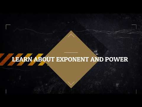 Exponents and Powers: Laws of exponents (Negative Exponents)