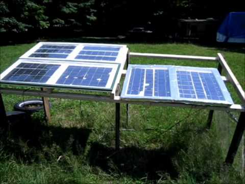 Cool Solar Panels To Increase Energy Output - Passive Solar Panel Cooling