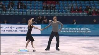 Ekaterina BOBROVA Dmitri SOLOVIEV 2013 FD Russian Nationals