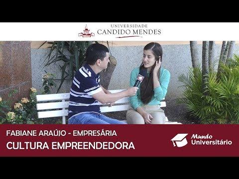 Fabiane Araújo fala sobre a Cultura Empreendedora