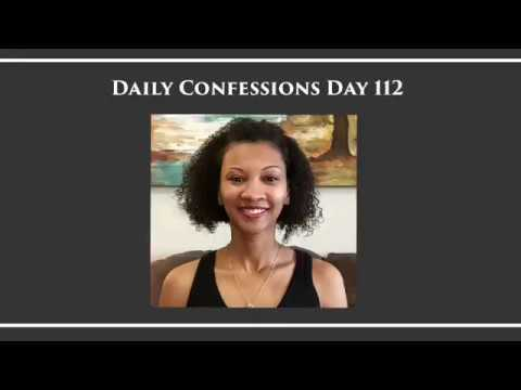 Daily Confessions with Glinda - New Confession Everyday - Day 112