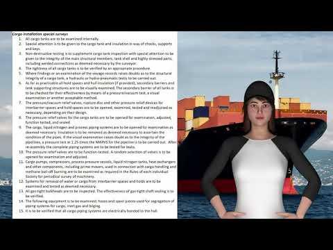 Survey & Certification-Cargo installation special surveys