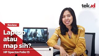 Review laptop setipis amplop map, HP Spectre Folio 13