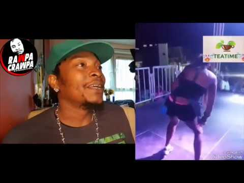 bout she gone pan stage fi brukback wit RazorB ( 11 aug 2017 ) rawpa crawpa vlog