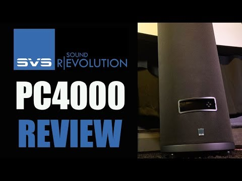 SVS PC-4000 Home Theater Subwoofer Review   HUGE BASS small SPACE!!!