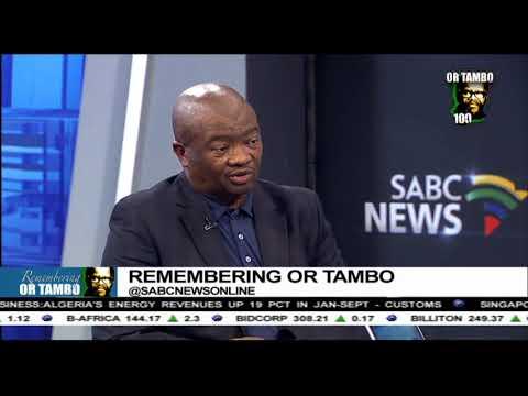 Bantu Holomisa remembers OR Tambo