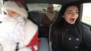 Ничего себе поездочка. Дрифт с девчонками | New Year Taxi Drift Prank