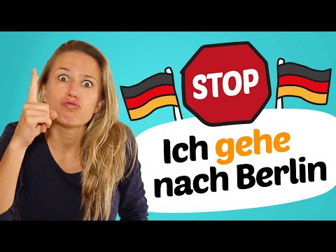 STOP making these 10 COMMON GERMAN MISTAKES 🛑✋