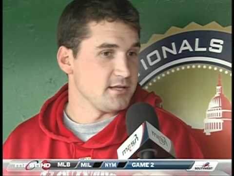 Phil Wood asks Ryan Zimmerman his thoughts on the Nats' upcoming offseason