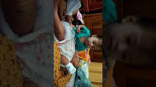 Kakak Ayasha dgn Ade Zheyn.