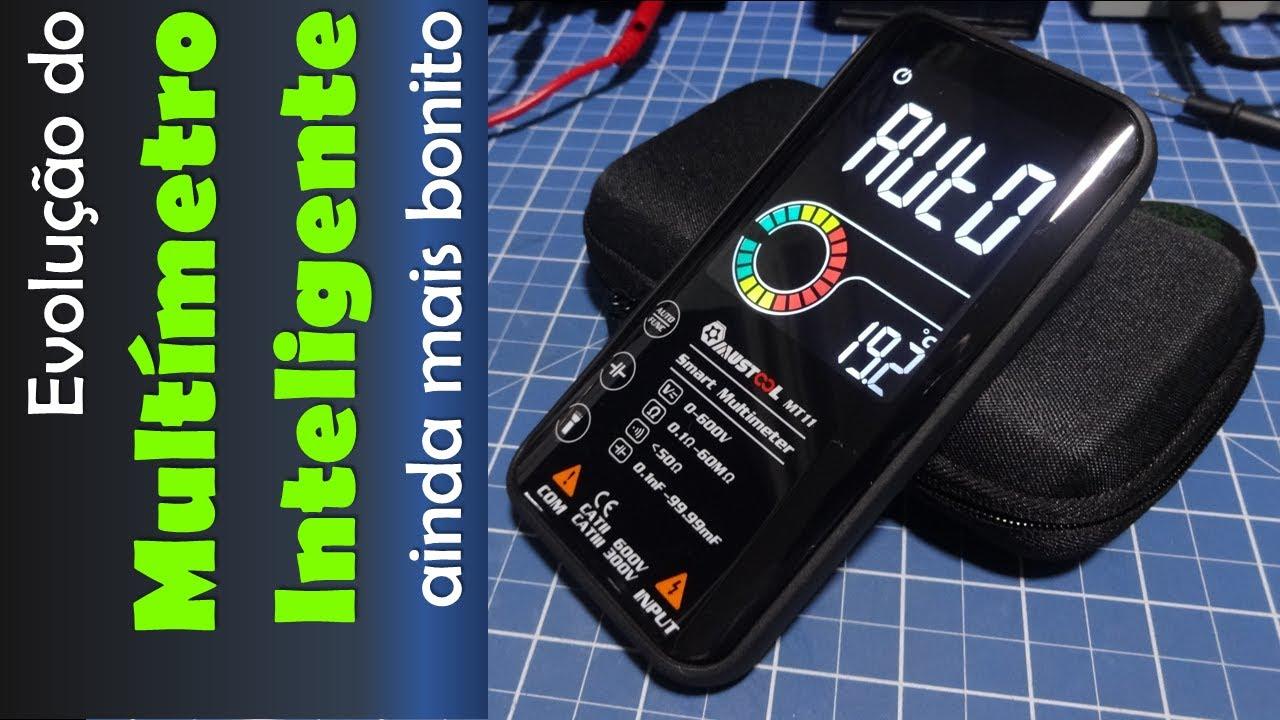 MT11 - Um novo multímetro inteligente. Uma boa evolução? Veja neste vídeo.