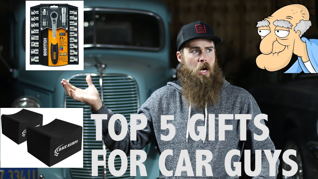 TOP 5 GIFTS FOR CAR GUYS