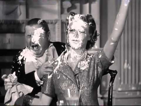The three stooges pie fight