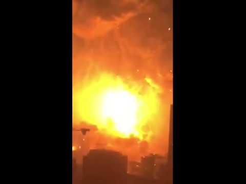 China Chemical Explosion