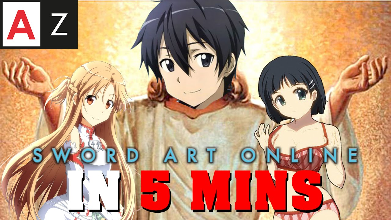 Sword Art Online IN 5 MINUTES | Anime in Minutes