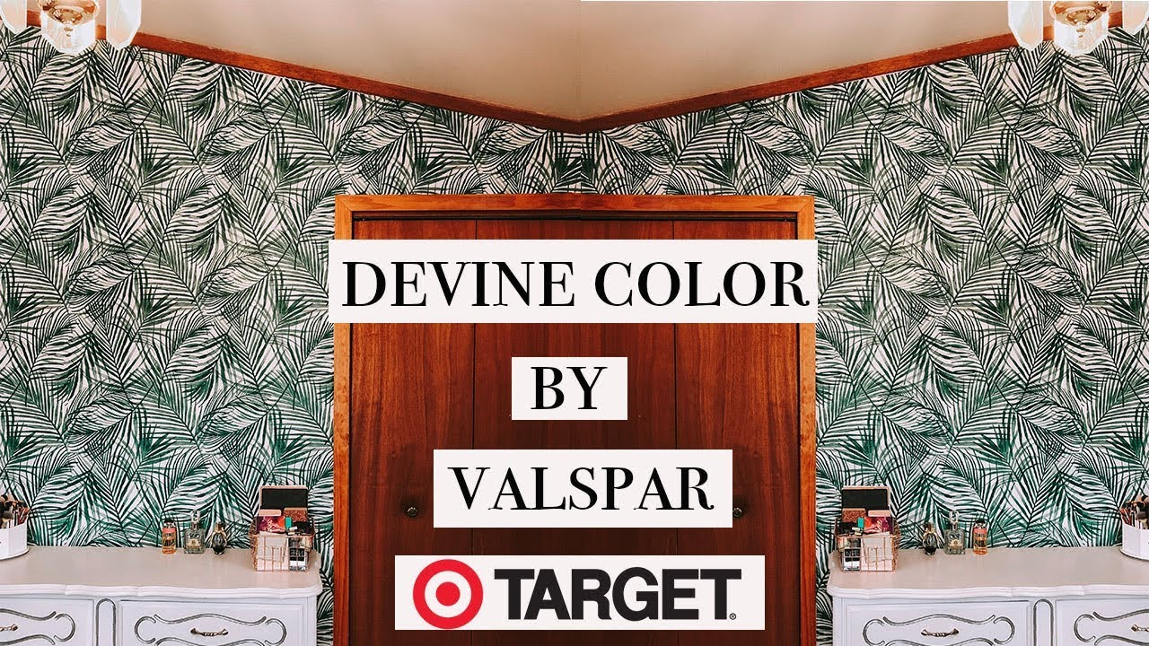 HOW TO APPLY PEEL & STICK WALLPAPER | DEVINE COLOR BY ...