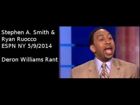 EPIC Stephen A. Smith Rant on Deron Williams [5.9.2014]