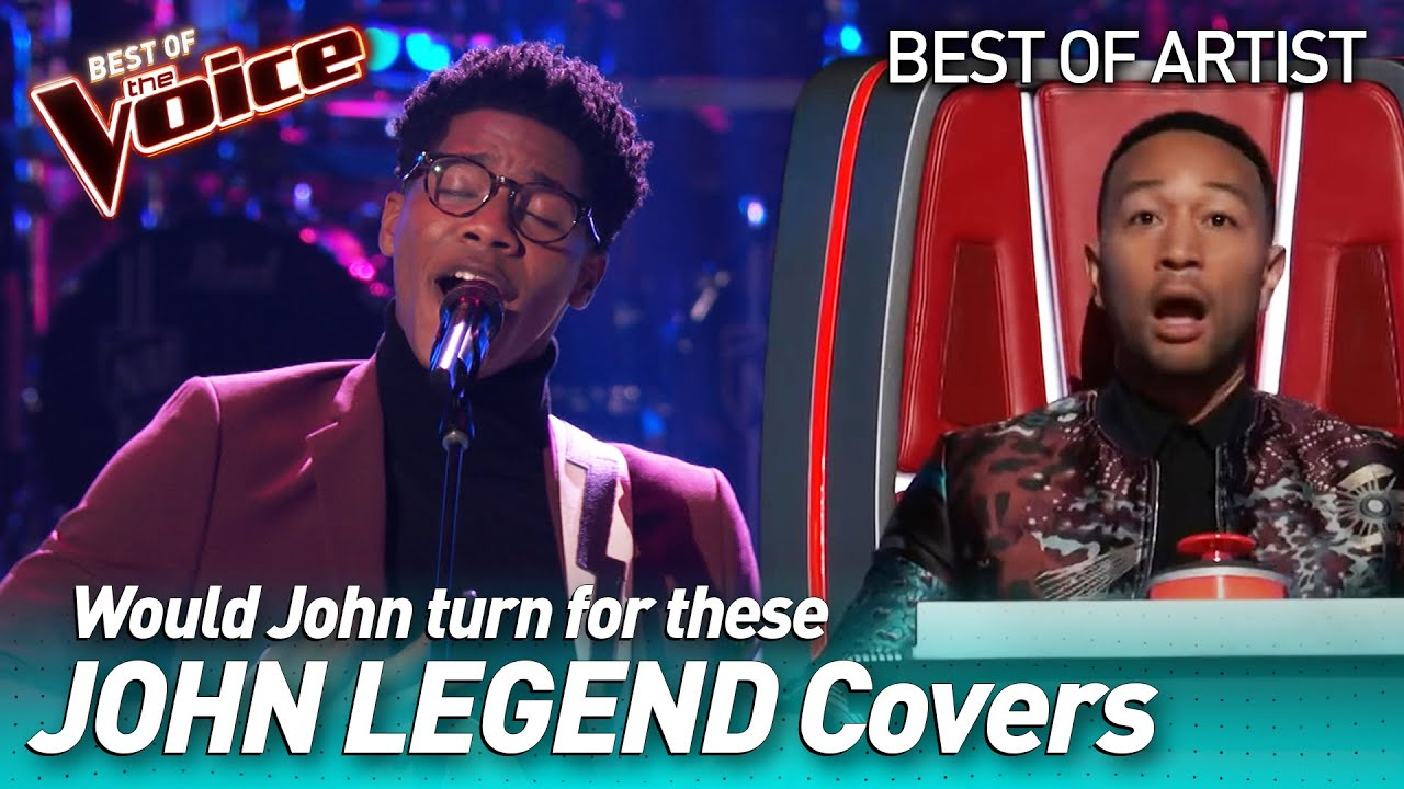 Download Incredible JOHN LEGEND covers in The Voice