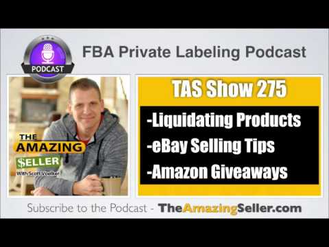 TAS 275 : How To Liquidate Products To Get Your Cash Back With Brad Kugler