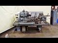 WARNER & SWASEY No. 3 Universal Ram Type Turret Lathe M-1200