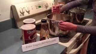 Delicious Easy Vegan Hot Chocolate From Http://www.free-vegan-recipes.com #veganrecipe