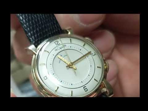 Lecoultre Wrist Alarm cal 489