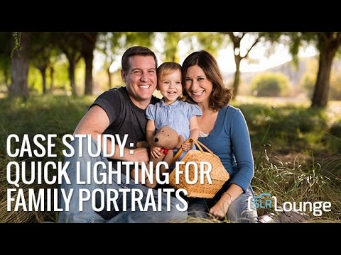 On Camera Lighting for Family Portraits | Lighting 101