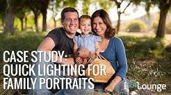 On Camera Lighting for Family Portraits   Lighting 101
