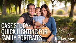 On Camera Lighting for Family Portraits | Lighting 101