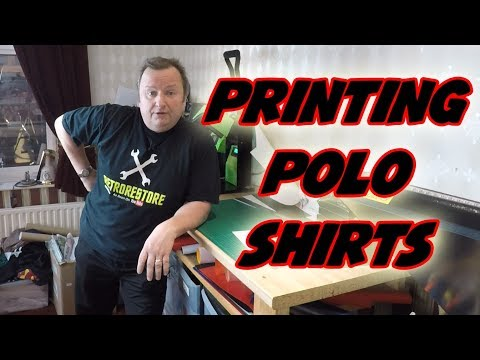 Printing Custom Polo Shirts For A Darts Team