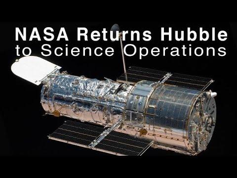 Dopo essere stato offline per oltre un mese, Hubble torna con due sorprendenti scatti