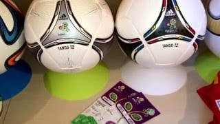My soccer ball and match ball Collection (Worldcup and more)