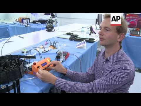 Competition highlights the latest in robot surgery
