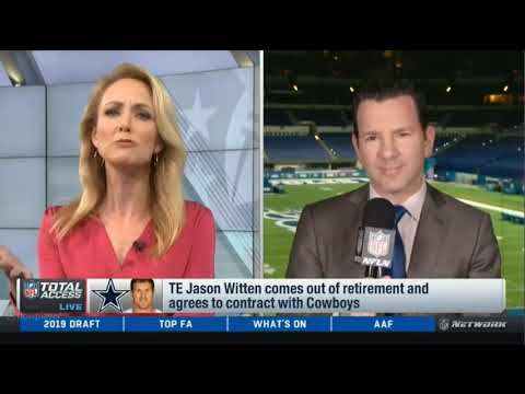 6c6ca7e2bcf TE Jason Witten comes out of retirement and agrees to contract with ...