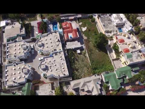 Drone over Vivy Mitchell / Port au Prince - Haiti - near Pétionville