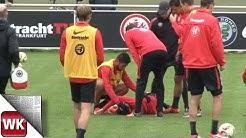 Flum verletzt sich im Eintracht-Training