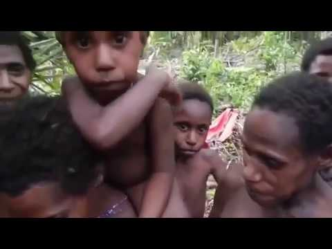 Cannibals meets white people first time