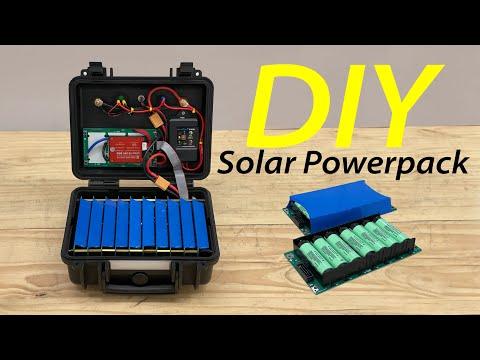 Emergency DIY Solar Powerpack Build