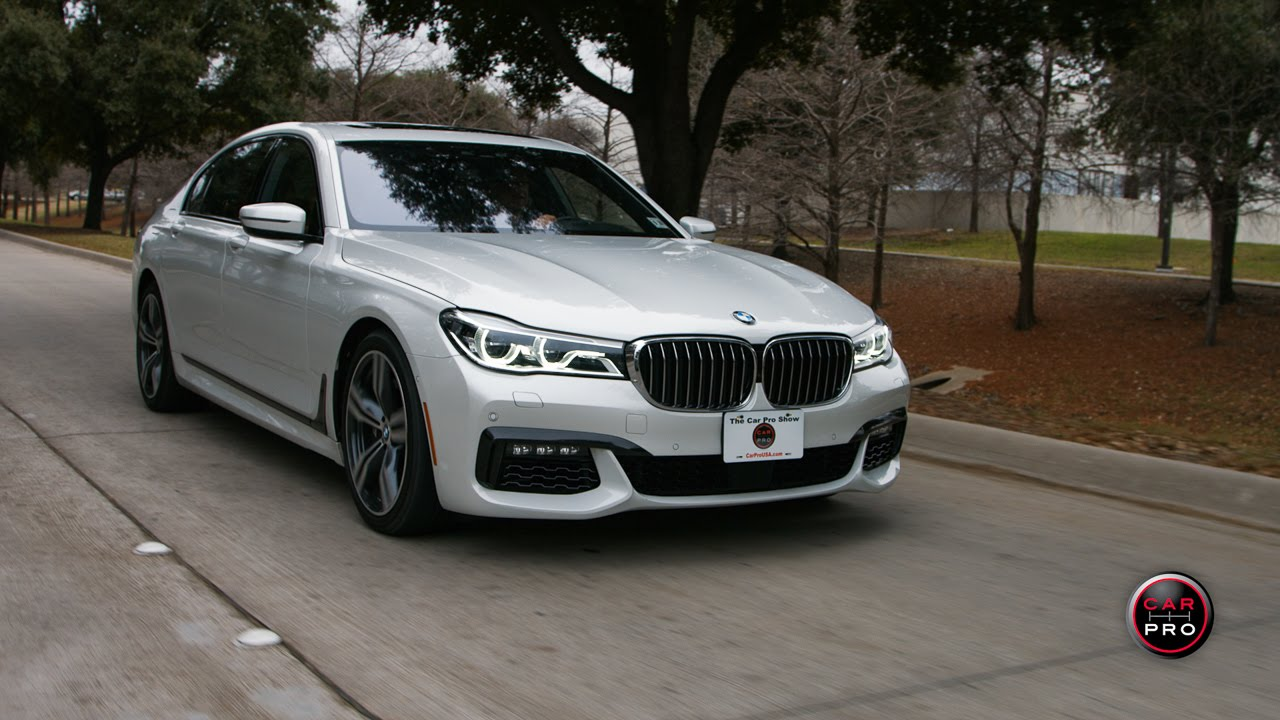 Unique TEST DRIVE 2016 BMW 750i XDrive Review  YouTube